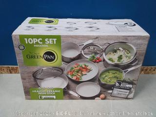 GreenPan Venice Pro 10-Pc. Ceramic Non-Stick Cookware Set (online $399)