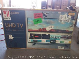 Samsung UHD TV 43 inch 6 series nu6900 (broken display) $499 Online