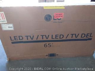 LG LED TV 65 in broken display