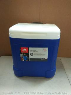 IGLOO Ice Cube 60 qt Roller Cooler(bottom outside cover damaged)