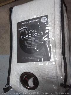 design Solutions Total Blackout grommet top panel 72 inch length (online $38)
