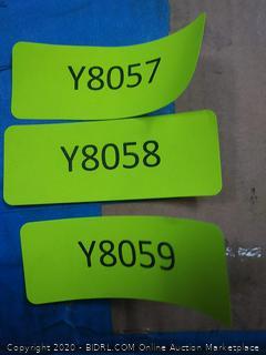 Umbra drapery Rod set 66in-120in Black New