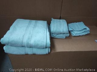 Wamsutta microcotton 6 piece towel set (online $54)