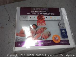 sleep safe ultimate anti bed bug mattress protector