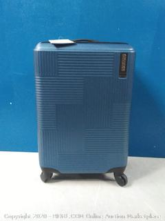 """American Tourister Stratum XLT 20"""" Spinner Luggage Blue Spruce (online $59)"""