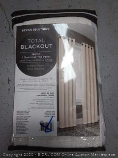design Solutions Total Blackout grommet top panel 72 inch length