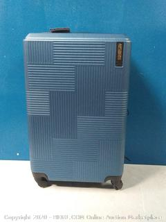 """American Tourister Stratum XLT 24"""" Spinner Luggage Blue Spruce (online $59)"""