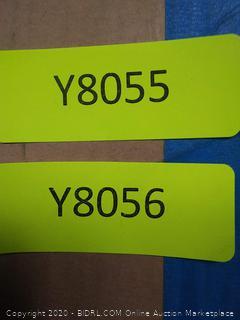 Umbra drapery Rod set 66-120in