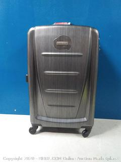 """Samsonite Luggage Winfield 2 Fashion HS Spinner 24"""" Charcoal (online $127)"""