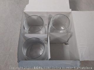 Bormioli Rocco Planeo Stemless Water Glasses 12oz (Missing One)