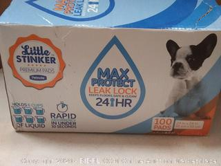 Max protect leak lock 100 pads