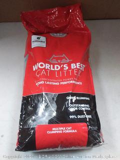 world's best cat litter multiple cat clumping formula 28 lb