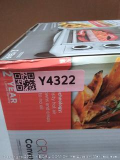 Black & Decker crisp N Bake convection air fryer countertop oven(manufacturer sealed)