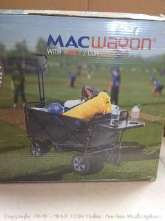 Mac sports Mac wagon with table grey
