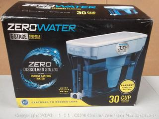 0 water 5 stage Advanced Filtration 30 cups