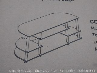 Furinno JAYA Simple Design Corner TV Stand, 15116EX