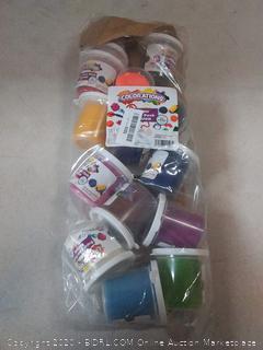 Colorations Classic Dough, 5 oz tubs, Set of 14 Bright Colors