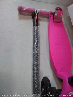 moboard Kick Scooter with 3 wheels pink