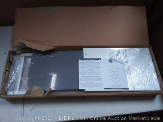 4 drawer storage unit Gray