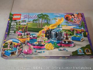 LEGO Friends Andrea's Pool Party 41374 Toy Pool Building Set