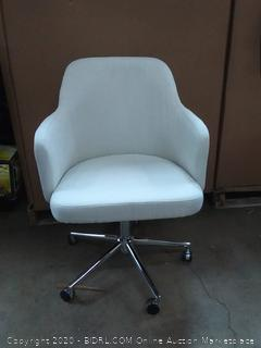 amazonbasics classic adjustable office chair twill fabric beige