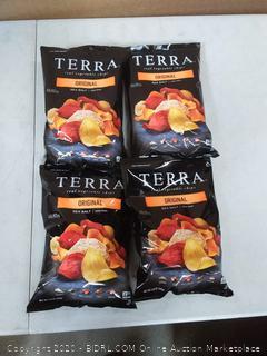 Terra Vegetable Chips - original sea salt 4 count