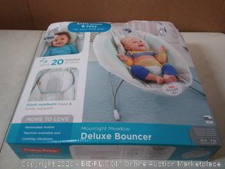 Fisher-Price Deluxe Bouncer: Moonlight Meadow