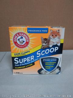 Arm & Hammer Clumping Litter - Super Scoop Fragrance Free