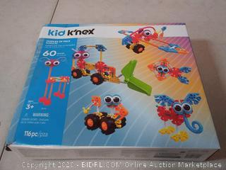 KID K'NEX – Oodles of Pals Building Set – 115 Pieces