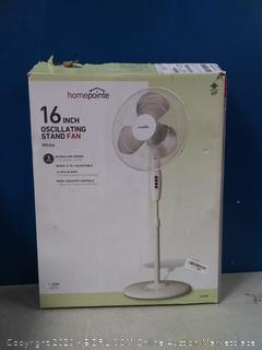 "16"" oscillating stand fan"