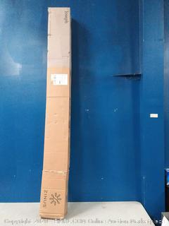 Zinus Joseph Metal Platforma Bed Frame, 6-Inches - Full (online $93)
