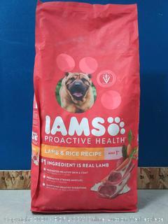 IAMS PROACTIVE HEALTH Adult Dry Dog Food Lamb and Rice, 7