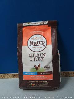 Nutro Grain Free Large Breed Adult Farm-Raised Chicken, Lentils