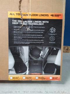Rugged Ridge All-Terrain 12975.01 Black Cargo Liner 2015 Jeep Wrangler
