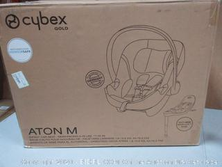 Cybex gold at Taunton MA infant car seat rear-facing