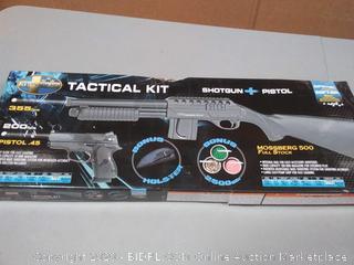 Mossberg shotgun plus pistol pellet gun(copy to Y4848)(2 total)