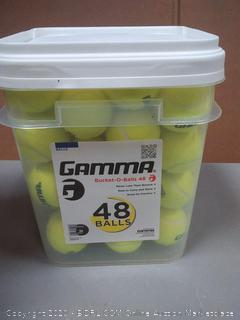 Donna bucket of balls 48 balls