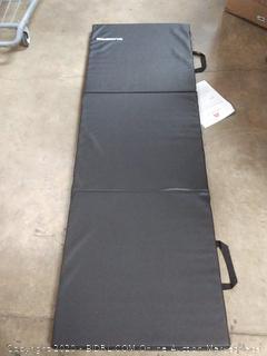 Tri-Fold Folding Exercise Mat Carrying Handles MMA, Gymnastics