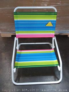 real wave one position sand chair Tropic strides