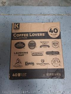 Keurig Coffee Lovers' Collection Sampler Pack, Single-Serve K-Cup Pods, Variety Pack, 40 Count (Pack of 1)