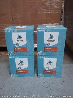 CARIBOU COFFEE KEURIG Single-Serve K Cup Pods, Medium