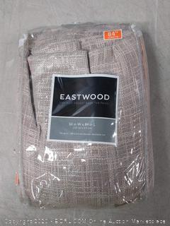 Eastwood one rod pocket back tab panel
