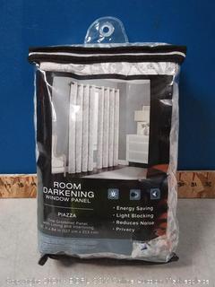 room darkening window panel