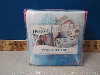 Frozen 2 Twin Sheet Set