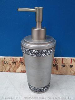 India Ink Omni Lotion Dispenser in Pewter (online $19)
