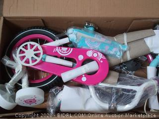 joystar 12 inch wheels suitable for ages 2 to 4