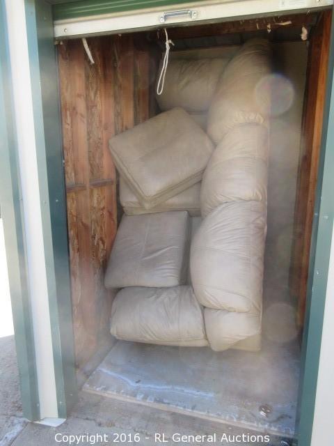 5x8 Storage Unit Contents
