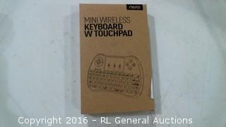 Mini Wireless Keyboard W touchpad