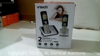 Vetch 2 Handset cordless Phone System