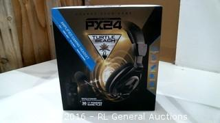PX24 Turtle Beach Amplified Gaming Headset